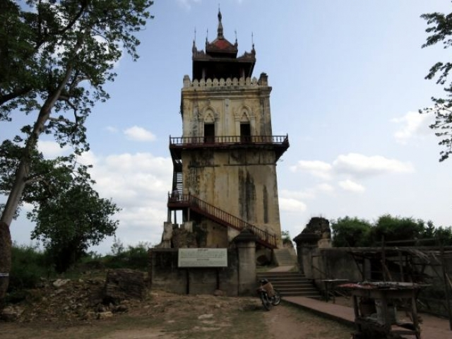 Three Jewels of Myanmar, Inwa, Nanmyin Watchtower