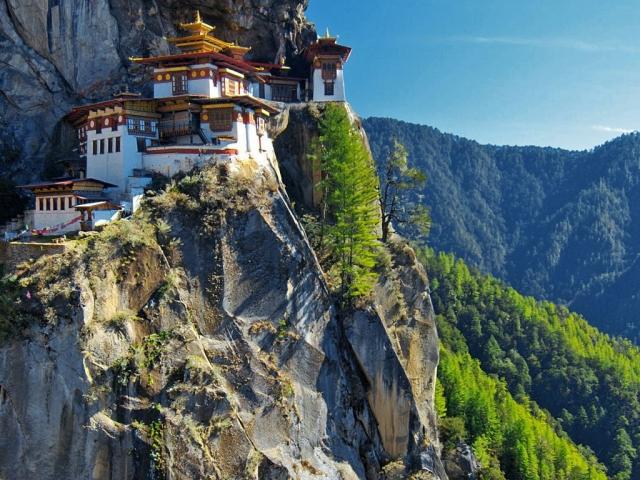 Bhutan, Paro, Tiger's Nest Monastery