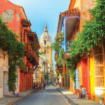 Explore Colombia - Cartagena Street Scene
