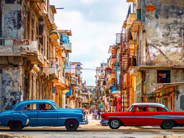 Cuba & Mexico, Cuba, Havana, Vintage Cars