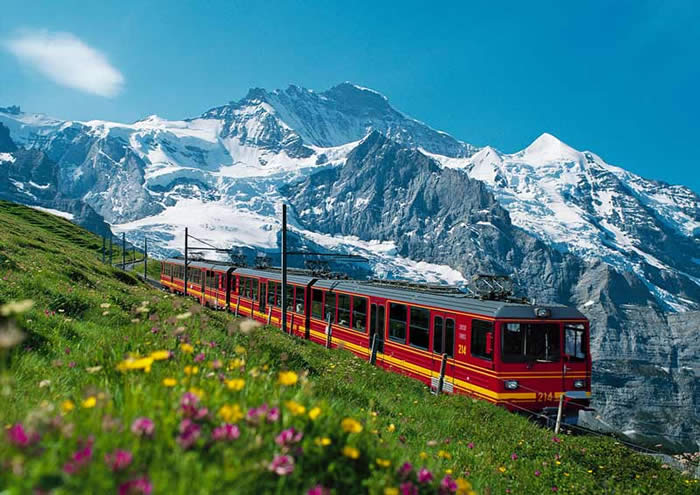 Switzerland, Bernese Alps, Jungfrau