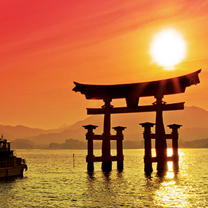 Journey Through Japan - Floating Torii Gate