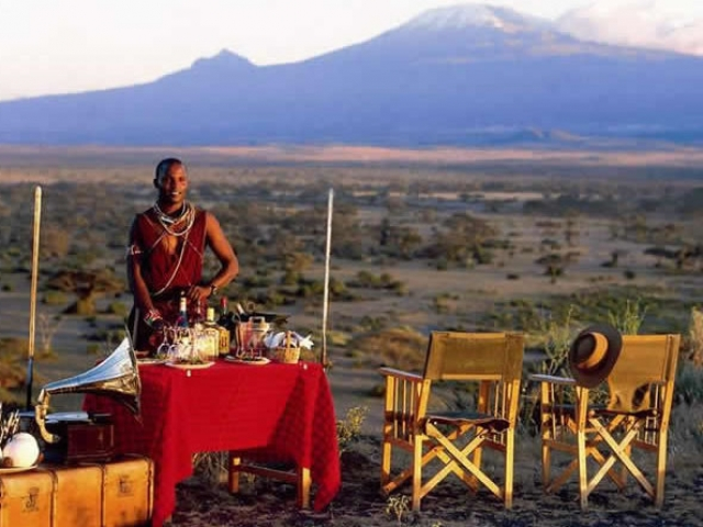 Kenya in Style, Tortilis Tented Camp