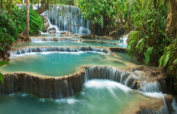 Luang Prabang, Khuang Si Waterfall