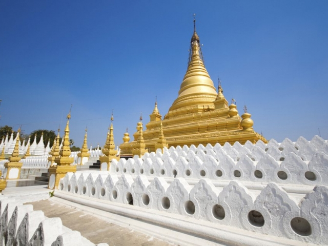 Three Jewels of Myanmar, Mandalay, Sandamuni Paya