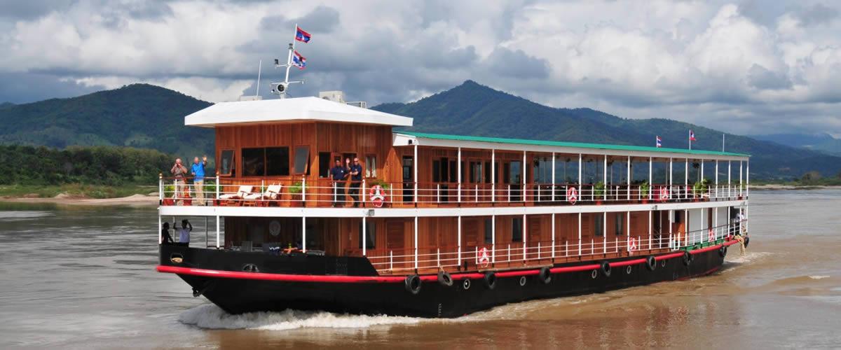 RV Champa - Laos to China
