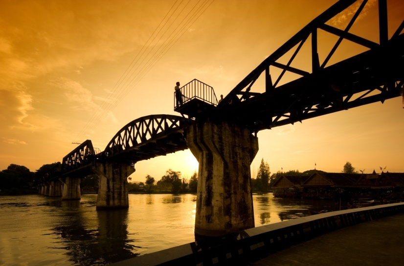 River Kwai Discovery, Kanchanaburi, Historic Riwer Kwai Bridge