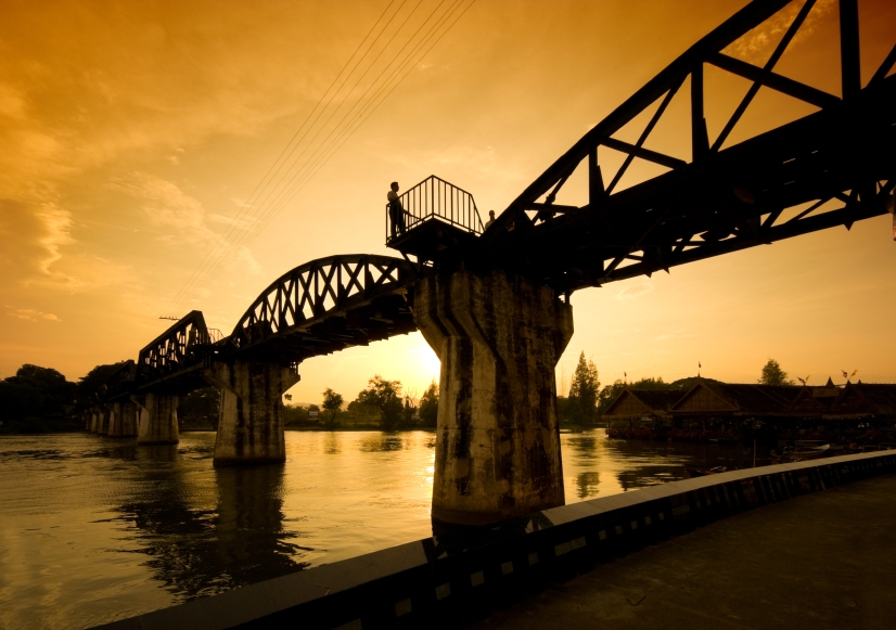 Kanchanaburi, Historic Riwer Kwai Bridge