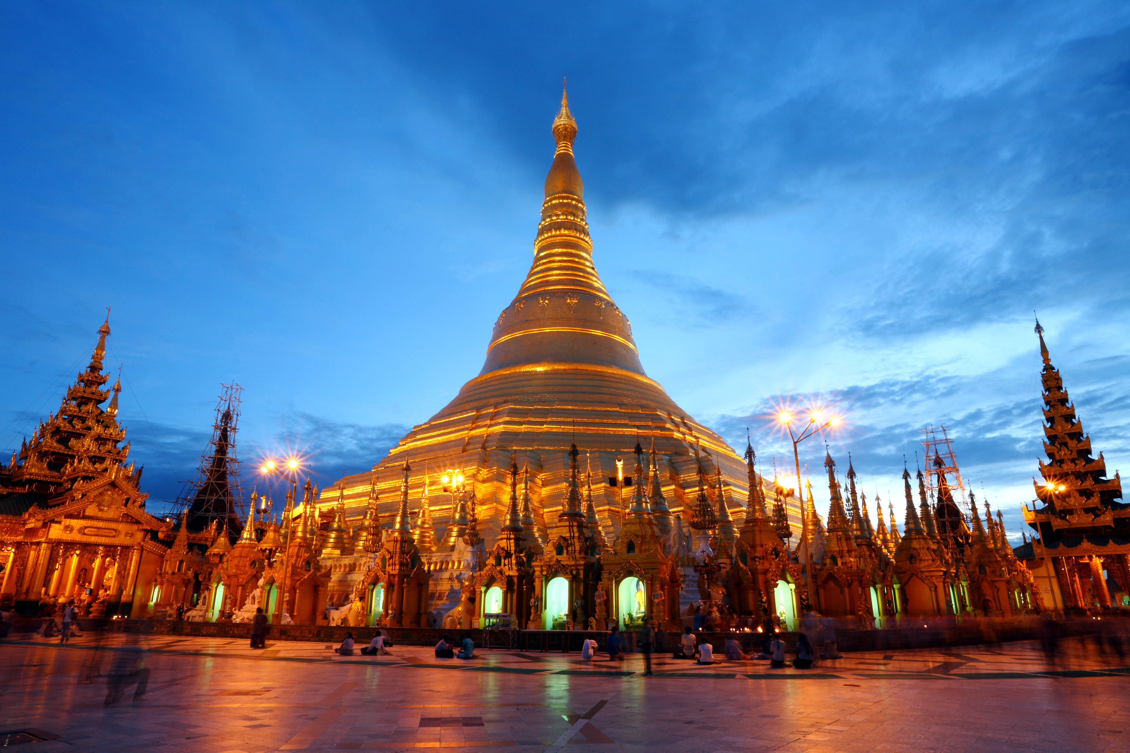 Yangon Stopover, Shwedagon Pagoda