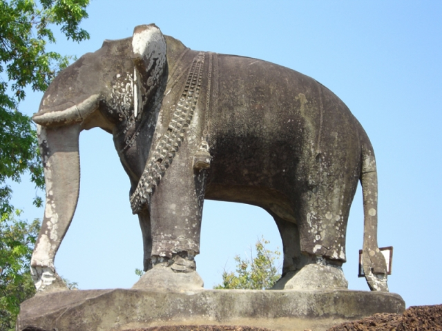 Siem Reap, Terrece of the Elephants