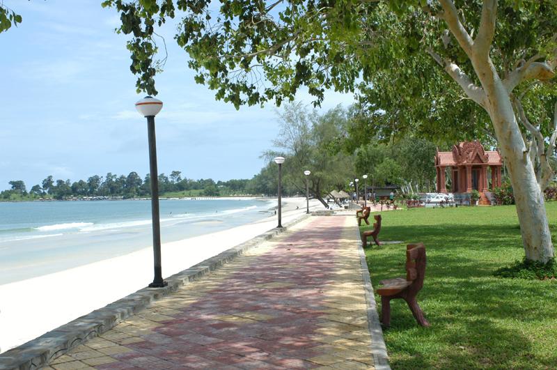 Cambodia Overland, Sihanoukville, Garden Sokha Beach