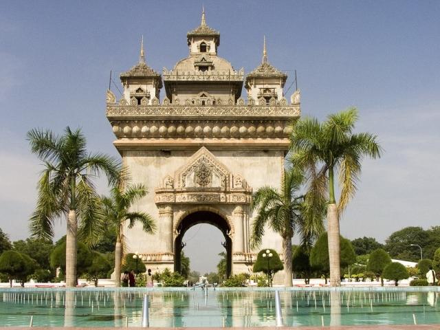 Classic Laos, Vientiane, Patuxay