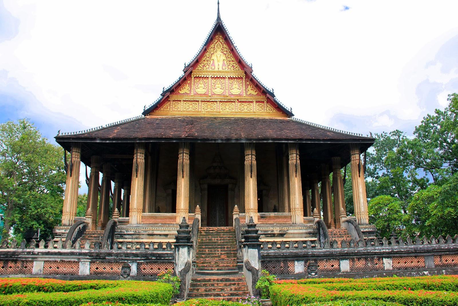 Classic Laos, Vientiane, Wat Prakeo