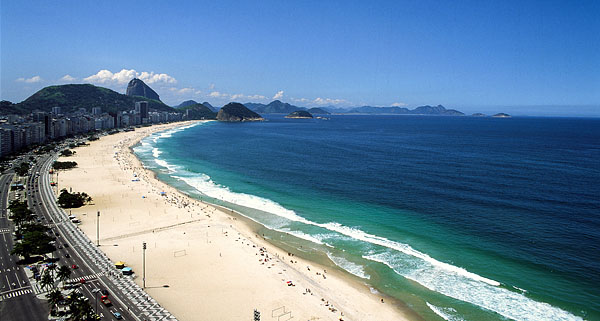 Brazil, Rio de Janeiro, Copacabana Beach