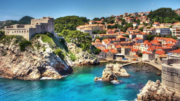 Croatia, Dubrovnik, Fort Lovrijenac