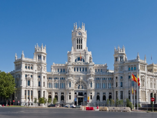 Spain, Madrid, Cybele Palace