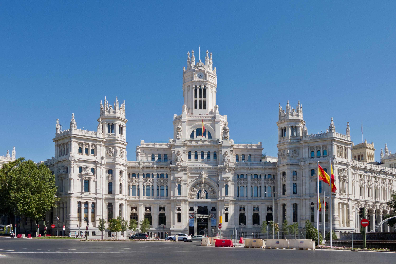 Spain, Madrid, Cybele Palace