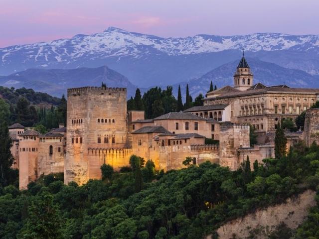 Spain. Granada, Alhambra Palace