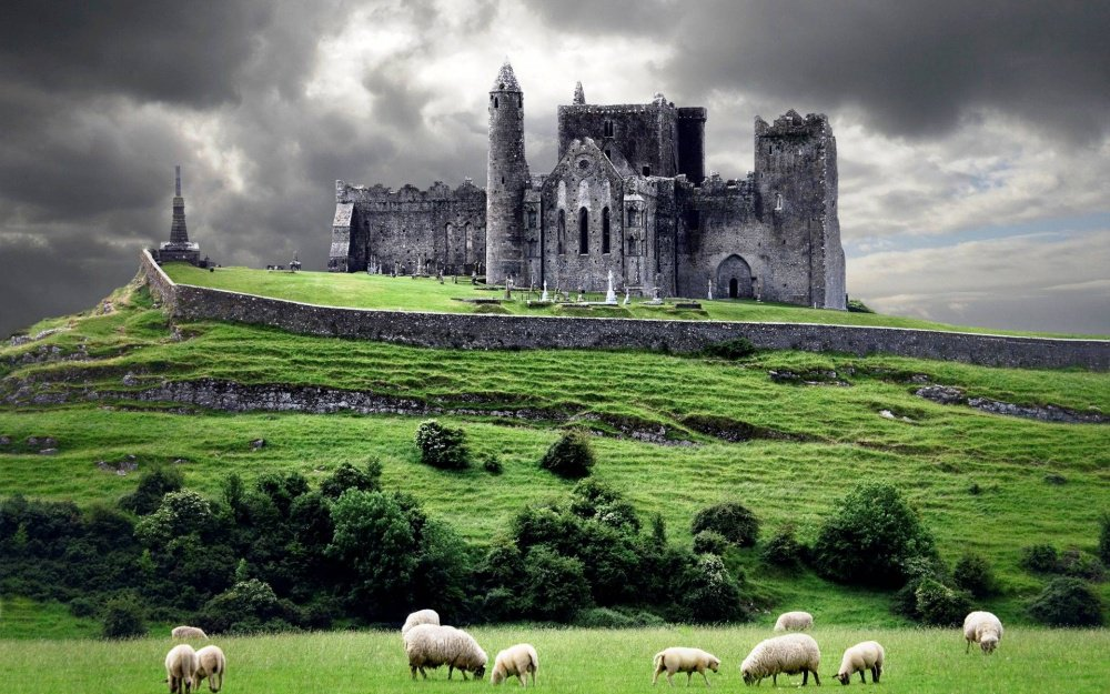 Ireland, Cashel, Rock of Cashel