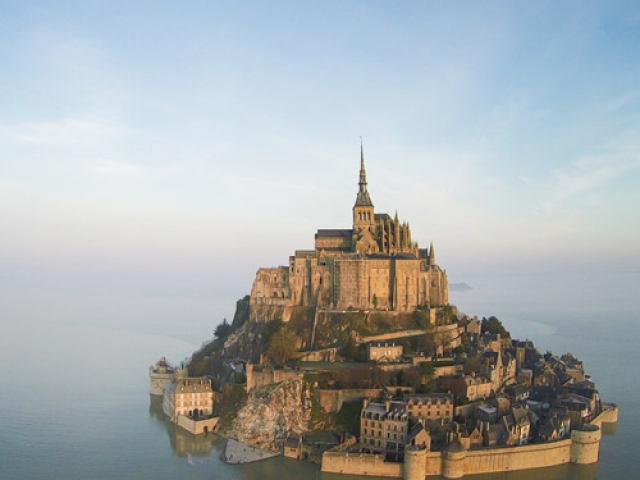 France. Mont Saint Michel