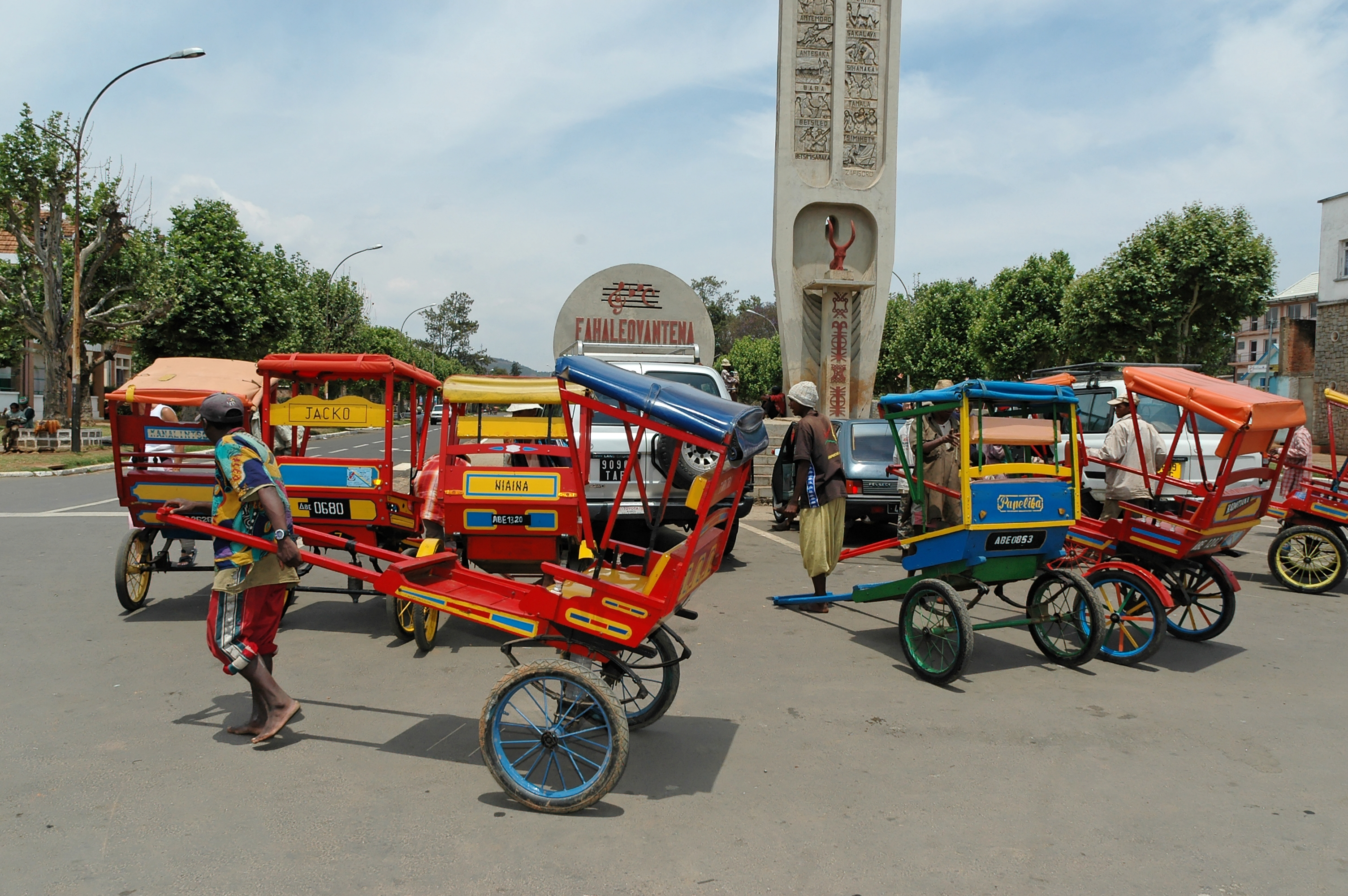 Wealth of Northern Madagascar, Rickshaw
