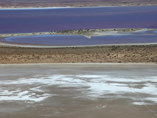 South Australia. Lake Eyer