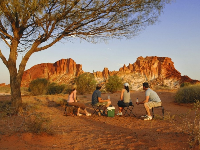 Northern Territory, Rainbow Valley