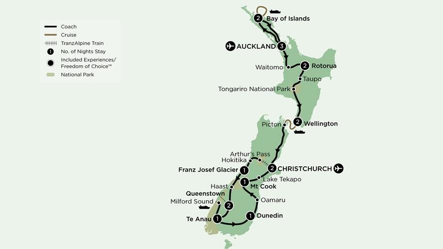 New Zealand, Royal Tourer New Zealand
