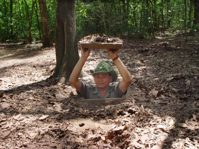 Cu Chi Tunnel Excursion