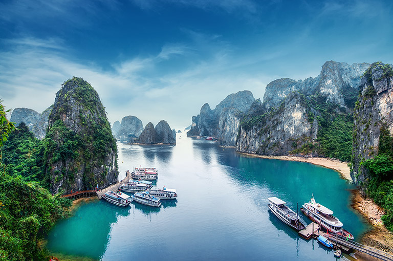 Halong-Bay and Red River - December to March