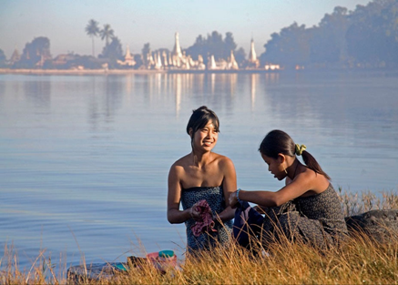 The Irrawaddy - River Scene