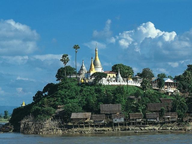 Shwekyata Pagoda Upper Irrawaddy