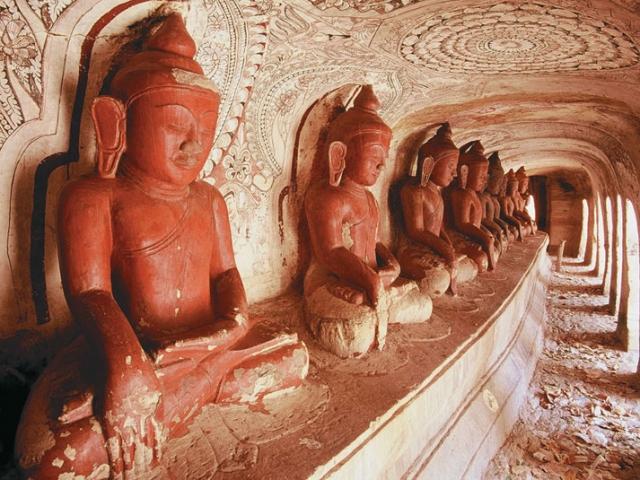 Po Win Taung Caves Monywa