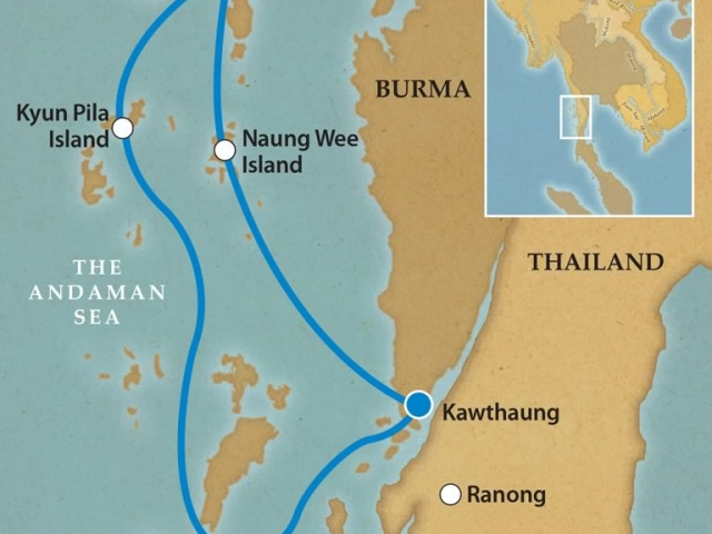 Myanmar (Burma) River Expeditions - Mergui Archipelago