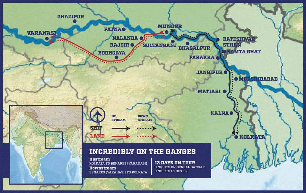 Incredibly On The Ganges - Bengal Ganga