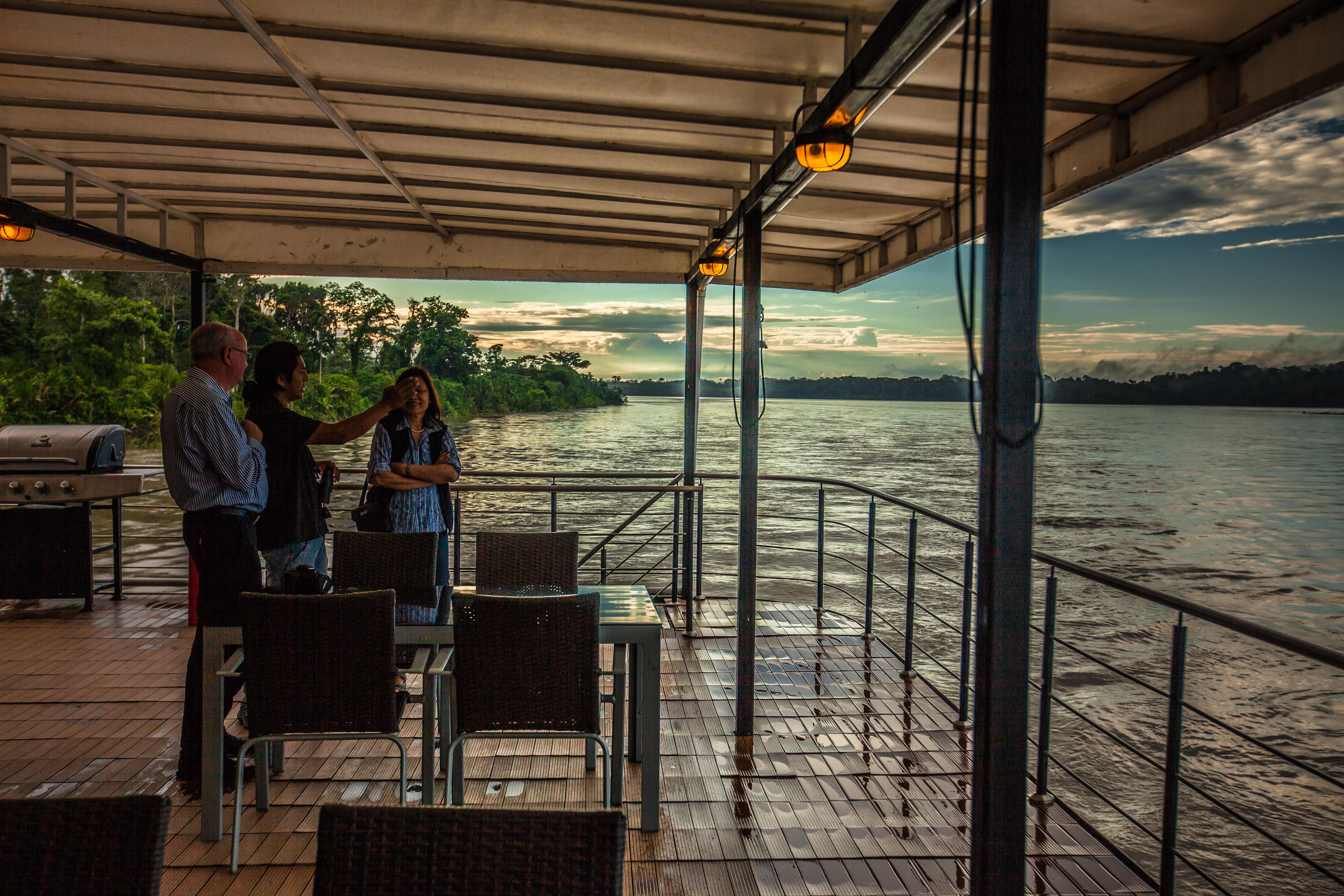 MV Anakonda - Al Fresco Lounge