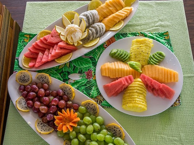 Fresh Fruits Served