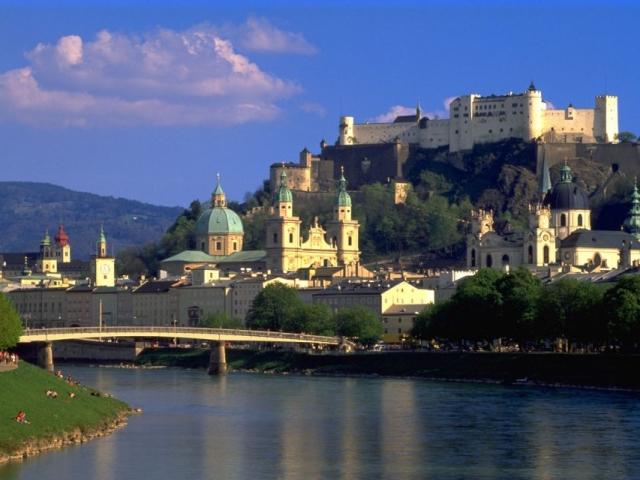 Austria, Salzburg, Hohensalzburg Castle