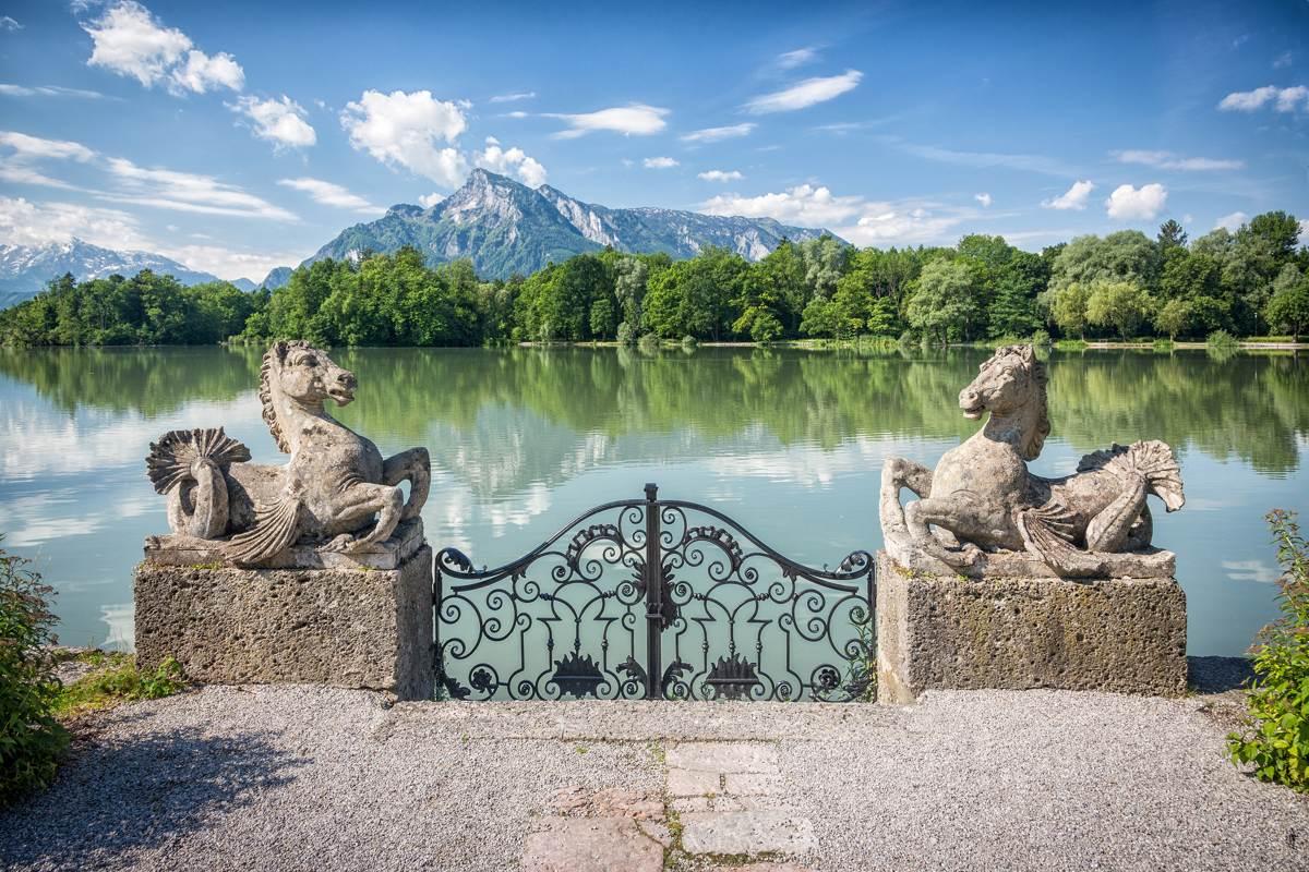 Austria, Salzburg, Schloss Leopoldskron