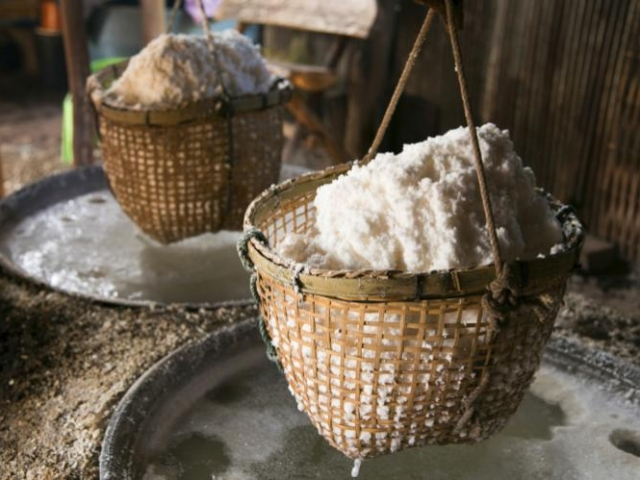Ban Bo Luang Produce, Salt Production