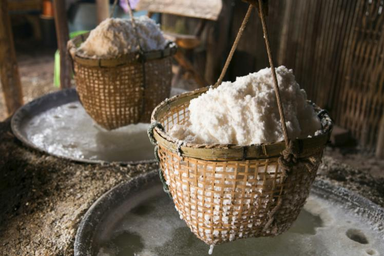 Historical Lanna Kingdom, Ban Bo Luang Produce, Salt Production