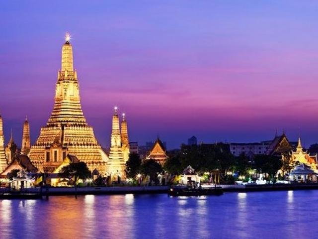 Thailand, Bangkok, Wat Arun Ratchawararam