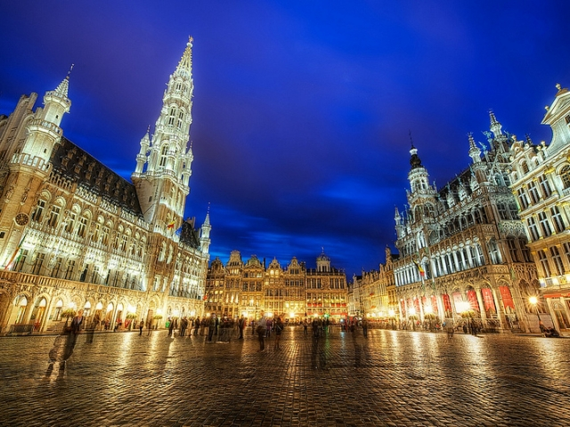 Belgium, Brussels, Grand Palace