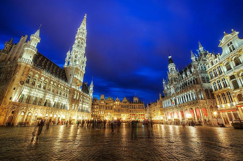 Belgium, Brussels, Grand Palace