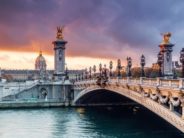 Great European, Bridge Alexandre III, Paris, France