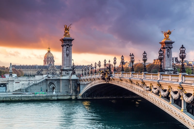 Great European | Bridge Alexandre III, Paris, France