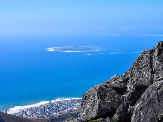 Cape Town Explorer | South Africa, Cape Town, Aerial View From Table Mountain