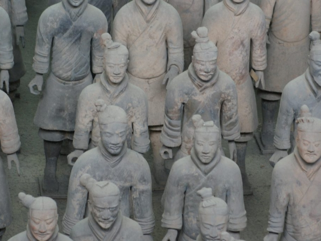 China, Xi'An,Terracotta Warriors