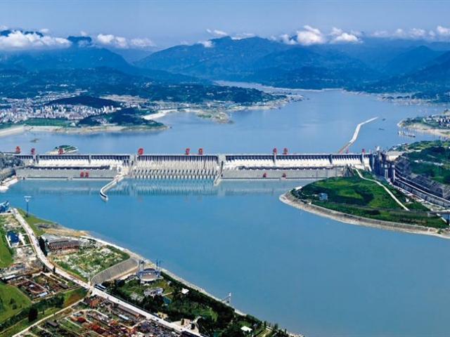 China, Yangtze River, Three Gorges Dam