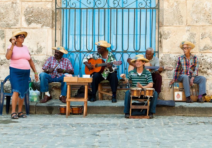 Cuba, Havana, Street Music